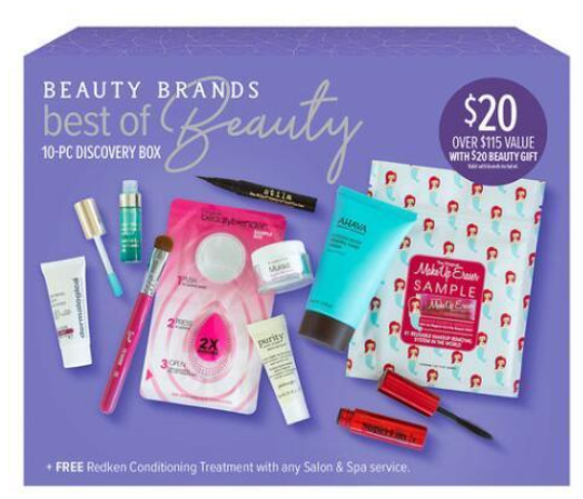 Beauty Brands Best of Beauty 10 Piece Discovery Box Gift Value Sets gifts Beauty Brands icangwp blog
