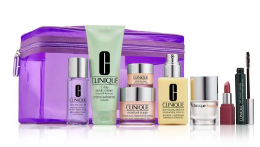 Clinique holiday 2018 pwp Best of Clinique 8 Piece Set Yours for 49.50 with any 29.50 Clinique Purchase lordandtaylo icangwp blog