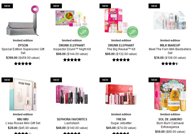 Gift Value Sets Sephora icangwp beauty blog
