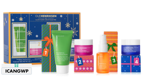 GLOW HOME FOR HYGGETIME 4 PC SKINCARE ADVENT CALENDAR ole henriksen advent calendar 2018 icangwp blog