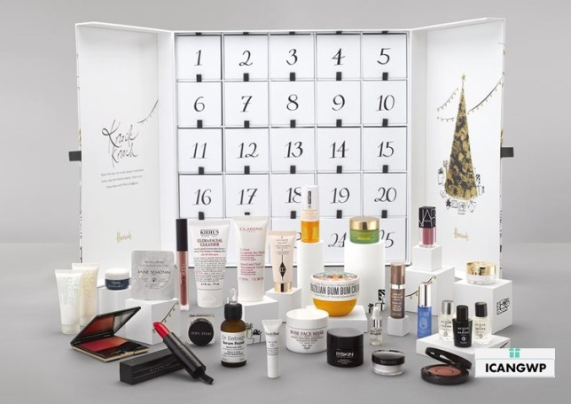 harrods 2018-beauty-advent-calendar icangwp blog