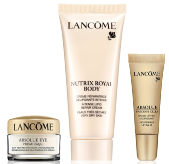 Lancôme Spend 100 and Receive Your Choice of 3 Additional Beauty Essentials saks.com