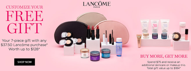 lancome gift with purchase at Dillards october 2018 icangwp blog