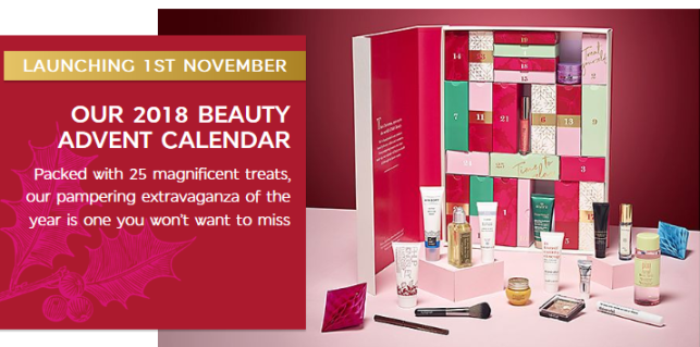 marks and spencer Advent Calendar 2018 beauty advent calendar 2018 icangwp blog