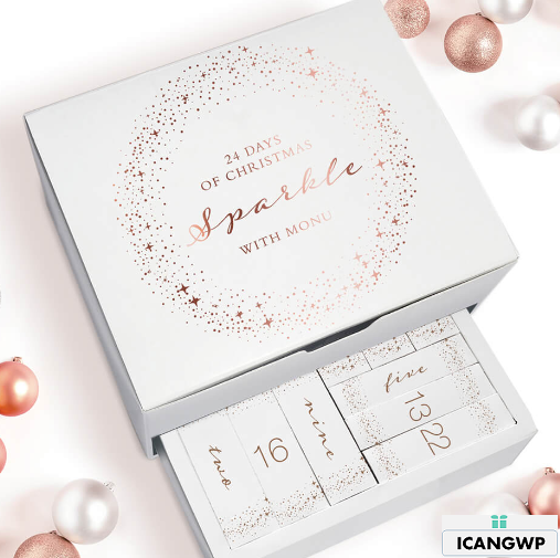 MONU 24 Days Of Christmas   Advent Calendar  Worth £400    Free Shipping   Lookfantastic.png