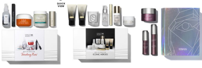 New Space NK beauty box holiday beauty box at space nk usa oct 2018 icangwp blog