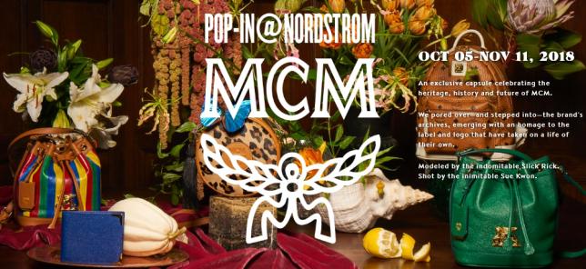 POP IN NORDSTROM MCM Nordstrom icangwp blog