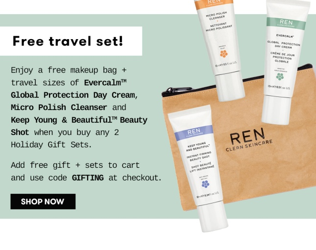 ren free travel size gift