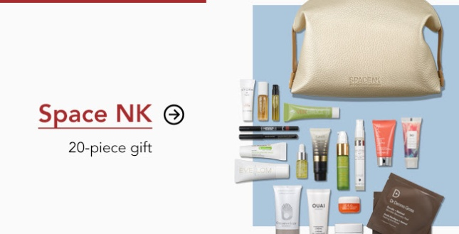 space nk 20pc gift bag