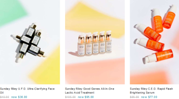 Sunday Riley 30 off Beauty Products Makeup Sale Urban Outfitters icangwp blog