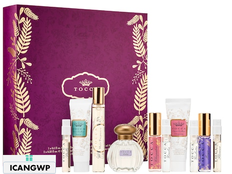 Ten Days of Tocca Gift Set TOCCA advent calendar 2018 beauty advent calendar 2018 icangpw blog Sephora