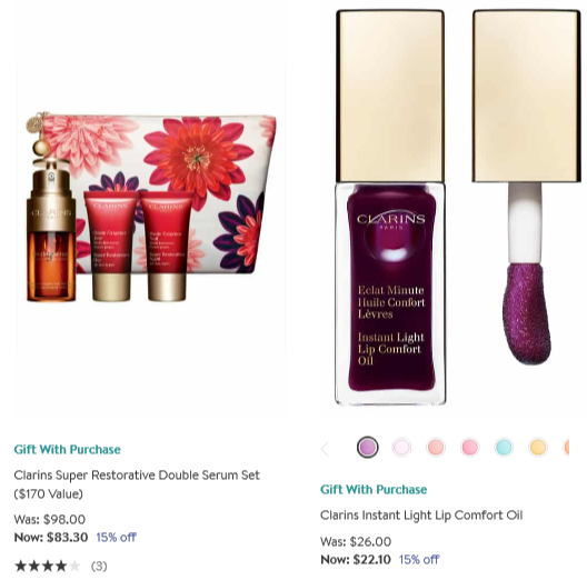 All Clarins Nordstrom