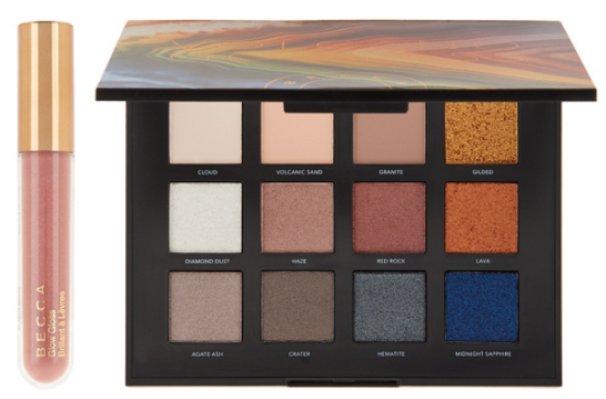 BECCA Volcano Goddess Eye Shadow Palette Glow Gloss — QVC.com