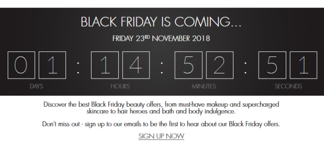 Black Friday Beauty Deals Free Gifts Space NK