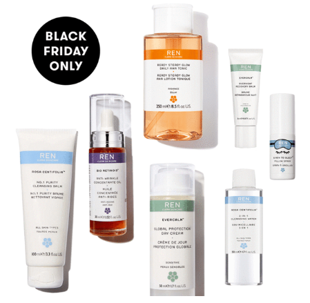 Black Friday Bundle 195 value REN Clean Skincare