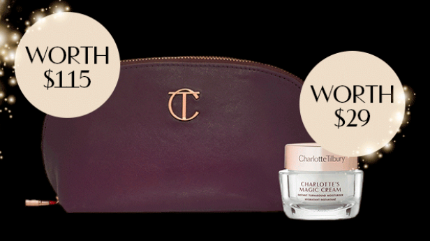 chalotte tilbury FREE Beauty Treat