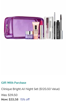 Clinique Clinique Bonus Gift with Purchase Nordstrom