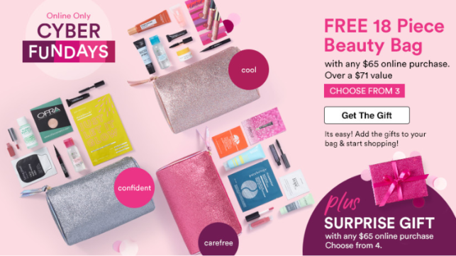Cosmetics Fragrance Skincare And Beauty Gifts Ulta Surprise Gift Icangwp Blog