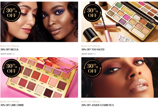 cult beauty Black Friday Cyber Offers