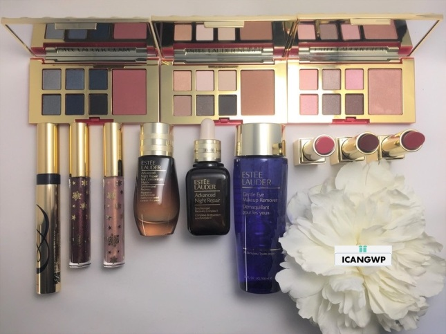 Estee Lauder Holiday Blockbuster 2018 by IcanGWP beauty blog unboxed
