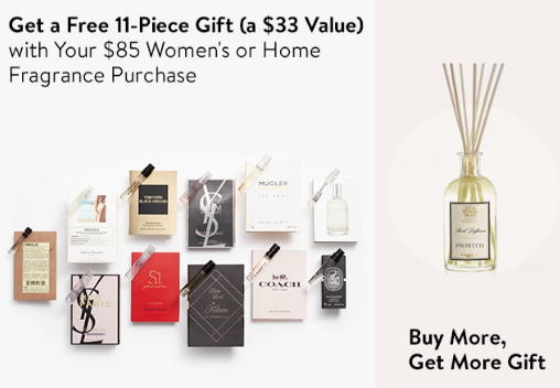 fragrance Gift with Purchase at Nordstrom icangwp beauty blog nov 2018