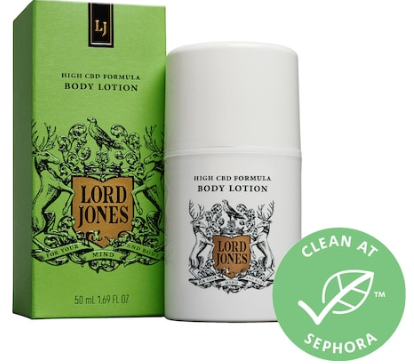 High CBD Formula Body Lotion Lord Jones Sephora
