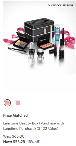 lancome beauty box 15 off at Nordstrom icangwp blog
