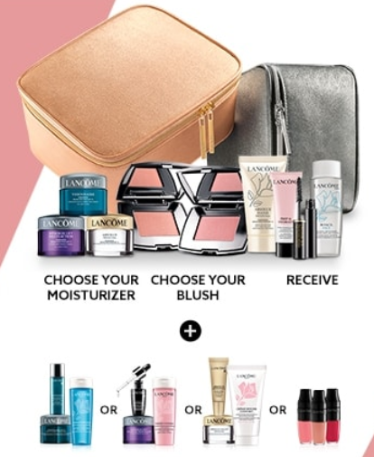 lancome gift with purchase at Lord and Taylor nov 2018 icangwp blog