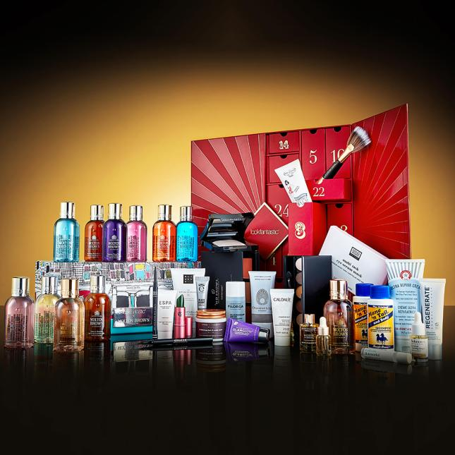 lookfantastic christmas bundle advent and molton