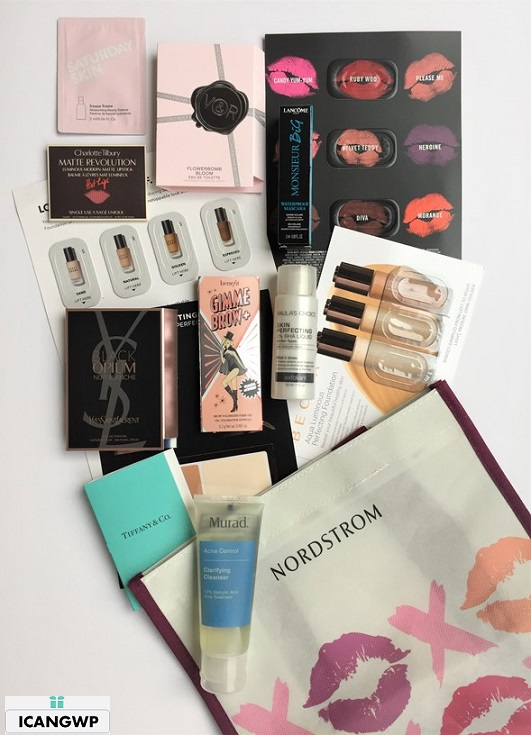my nordstrom gift with purchase icangwp beauty blog