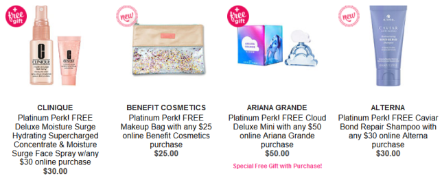 platinum perks Gifts with Purchase Ulta Beauty icangwp blog