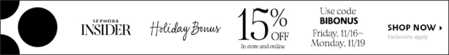 sephora 15 off coupon