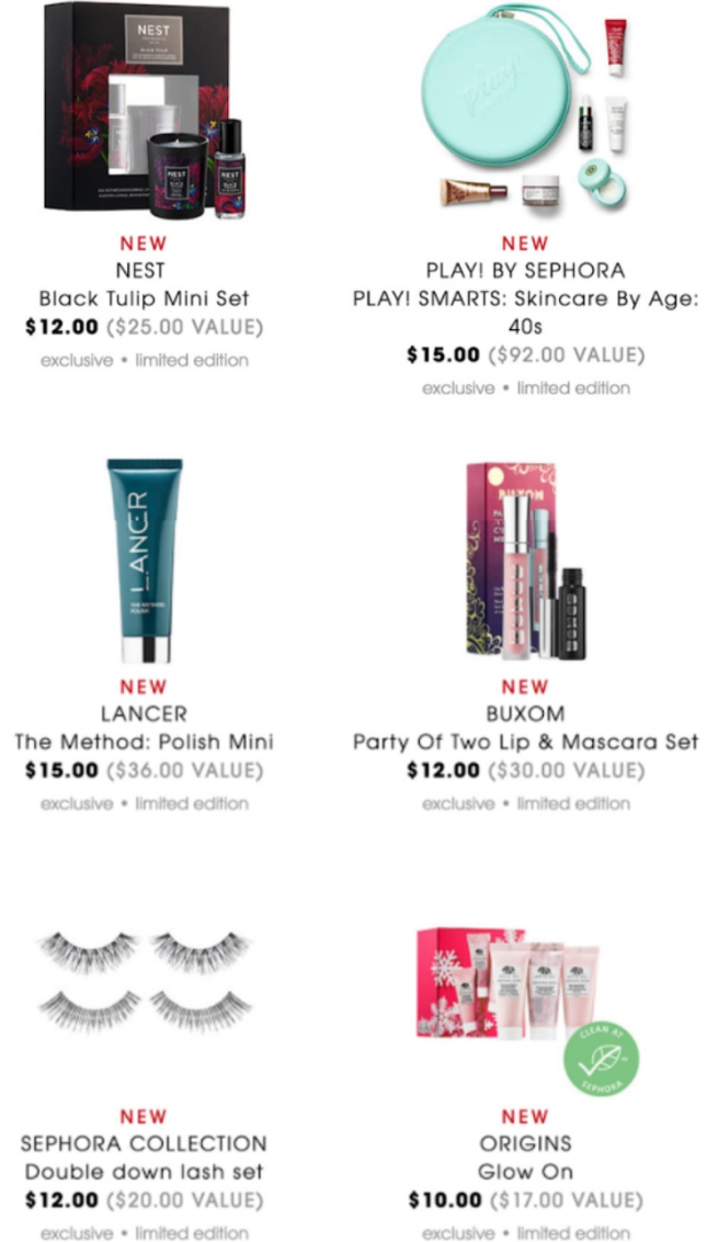 Sephora Black Friday 2018 icangwp beauty blog