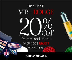 sephora vib sale 20 percent off coupon code enjoy icangwp blog