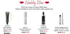 Sephora weekly wow nov 2018 Coupons Promo Codes Coupon Codes Sephora