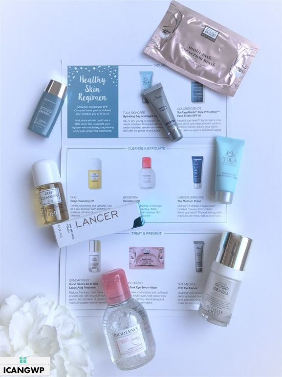 Target Beauty Box Holiday Dermstore Skin Care Colletion icangwp beauty blog unboxing