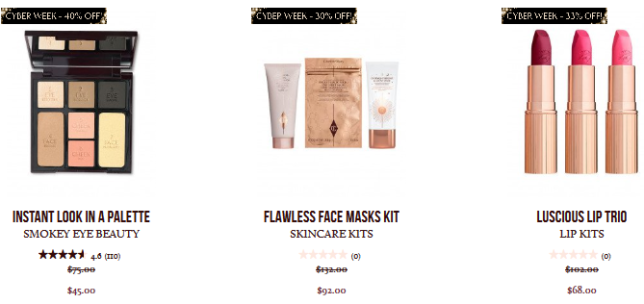 Up To 40 Off Black Friday 2018 Beauty Deals Makeup Skincare Charlotte Tilbury 3