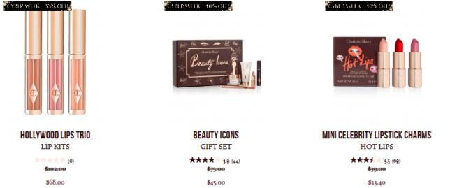 Up To 40 Off Black Friday 2018 Beauty Deals Makeup Skincare Charlotte Tilbury