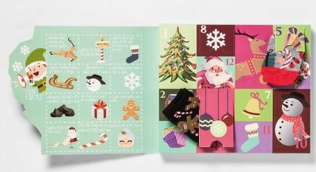 Women s Santa s Sleigh 12 Days of Socks Advent Calendar Colors May Vary 4 10 Target