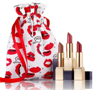 Estée Lauder Choose Lips or Lashes Free Gift with 39.50 Estee Lauder purchase A 75 Value Gifts with Purchase Beauty Macy s