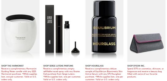 Gift with Purchase Barneys New York icangwp beauty blog 2
