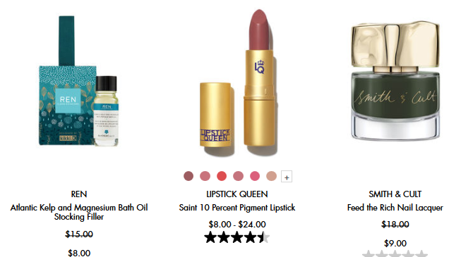 Sale Skincare makeup fragrance beauty Space NK icangwp