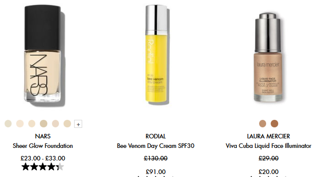 Sale Skincare makeup fragrance beauty Space NK uk icangwp blog