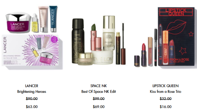Sale Skincare makeup fragrance beauty Space NK