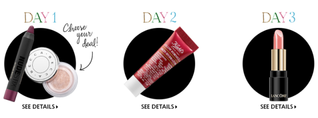 Beauty Advent Calendar 2018 Sephora day 3