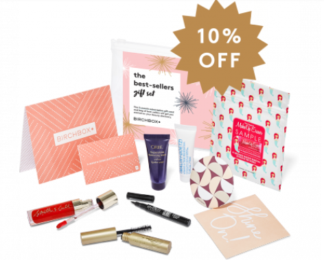 Birchbox Best Sellers Gift Set Including 3 Month Subscription Gift Card
