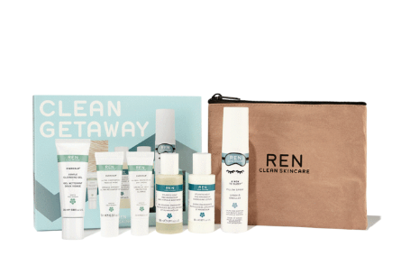 Clean Getaway Face Body Favorites Travel Set – REN Clean Skincare