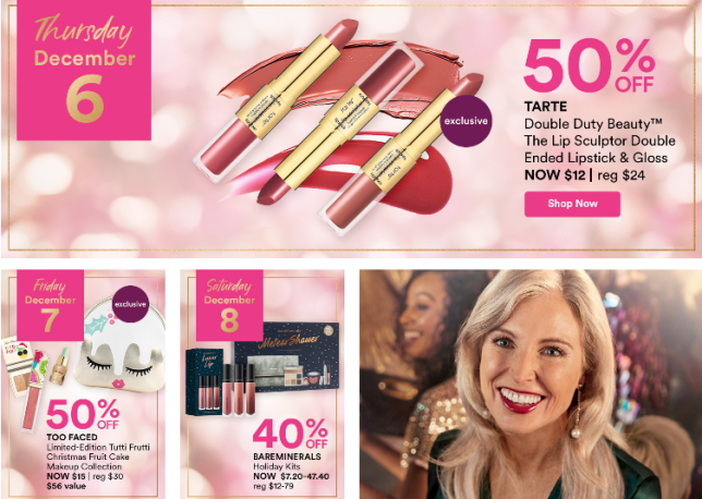 Holiday Beauty Blitz Sale ULTA BEAUTY