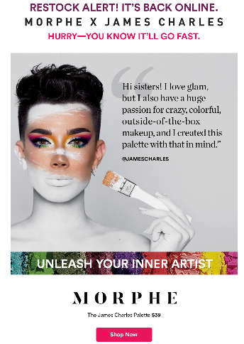 Where To Buy Morphe James Charles Palette Batch 2 Icangwp Gift With Purchase James charles x morphe mini artistry palette. buy morphe james charles palette batch