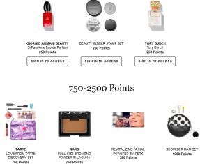 Rewards Bazaar Sephora icangwp blog